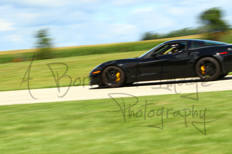 A Borrowed Image Photography Car Corvette Black Yellow