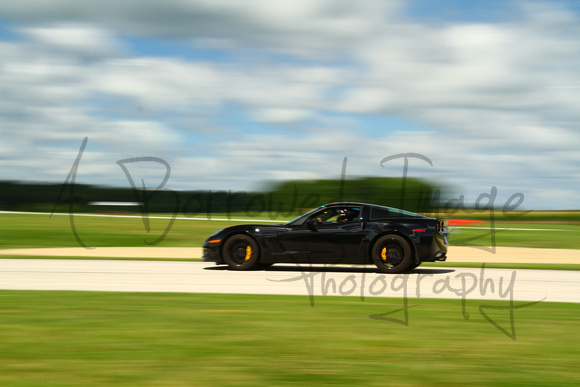 A Borrowed Image Photography Car Corvette Black Yellow Calipers Untitled 2102